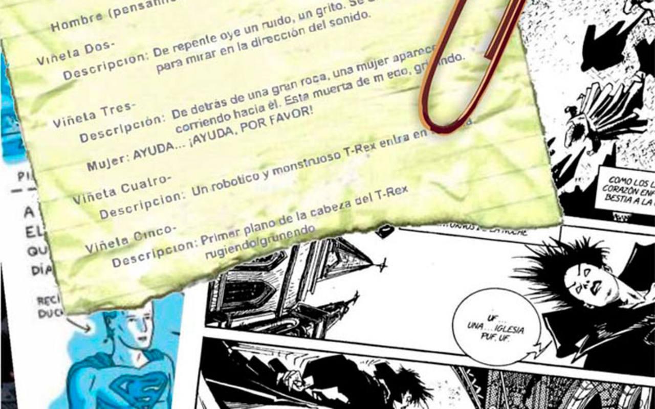 El guión original y su traslación al cómic