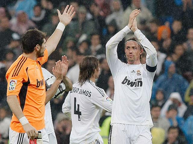 Guti se despide del Bernabéu