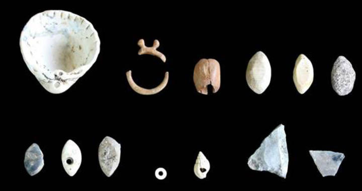 Hallan un taller de joyería del Neolítico en el yacimiento de la Draga