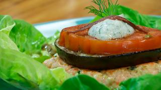 Torres en la cocina - Hamburguesa de salmón