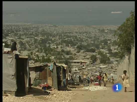 En Haití la situación es drámatica en los improvisados campamentos de desplazados