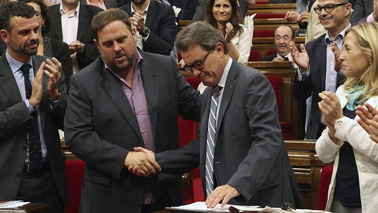 Artur Mas tiene hasta principios de octubre para firmar la convocatoria del 9 de noviembre