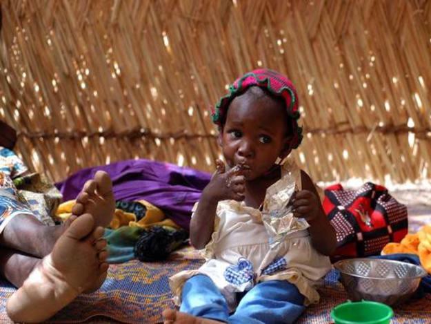 Hay 20 millones de niños que no se desarrollarán con normalidad por no comer lo suficiente.