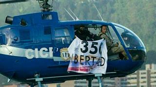 Un helicóptero de la policía ataca a balazos el Supremo venezolano