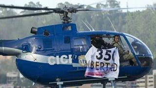 Un helicóptero tripulado por policías antichavistas ataca el Tribunal Supremo de Venezuela