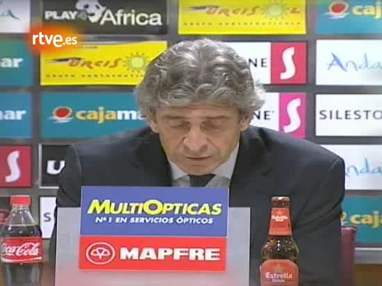 Pellegrini: 'Hemos hecho un buen partido'