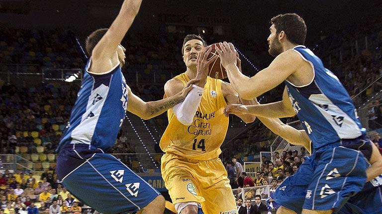Herbalife Gran Canaria 71 -  Guipuzkoa Basket 70