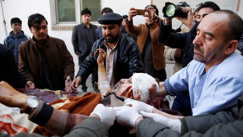 Un herido en el atentado contra un centro chií en Kabul, Afganistán