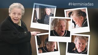 Cuéntame cómo pasó - Herminia pasa a la acción, ¡a sartenazo limpio!