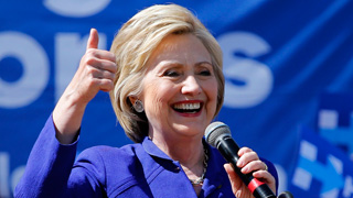 Hillary Clinton consigue los delegados necesarios para ser la candidata demócrata, según los medios estadounidenses
