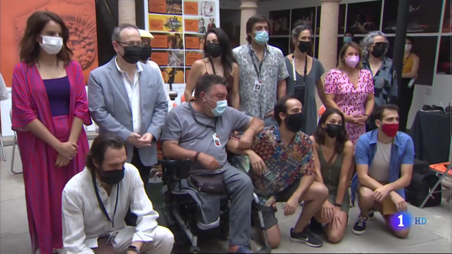 """Ir al Video""""Hipatia de Alejandría'' trae la tragedia al Festival Internacional de Teatro Clásico de Mérida"""