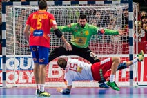 Ir al Video Los 'Hispanos' pinchan ante Dinamarca