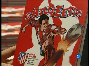 La historia del Atlético en cómic