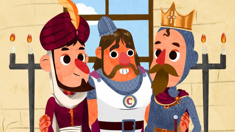 Con la historia del Cid los niños descubrirán lo importante de confiar en tus amigos