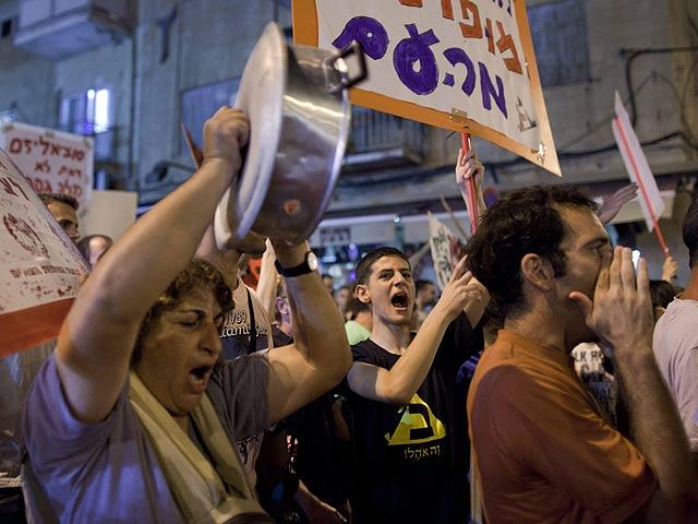Decenas de miles de 'indignados' protagonizan la mayor protesta social de la historia de Israel