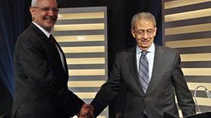 Histórico debate televisivo en Egipto