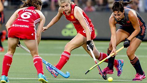 Cto. de Europa Femenino. 2ª Semifinal: Holanda-Inglaterra