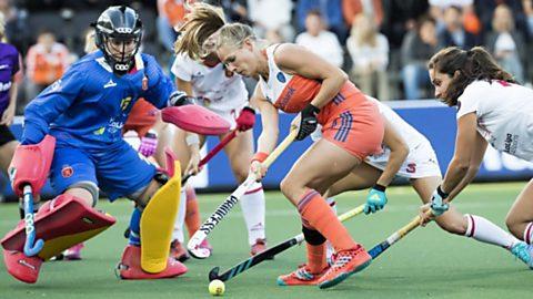 Campeonato de Europa Femenino: España - Holanda