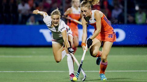 Cto. de Europa Femenino. Final: Bélgica - Holanda