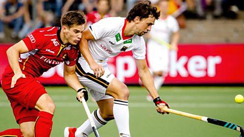 Cto. de Europa Masculino. 1ª Semifinal: Alemania - Bélgica