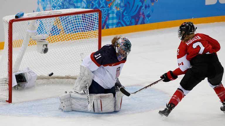 Hockey sobre hielo - Femenino. Canadá - Estados Unidos