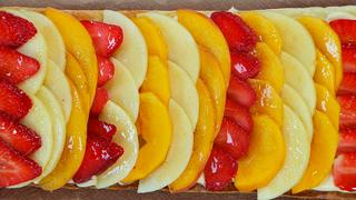 Torres en la cocina - Hojaldre de frutas