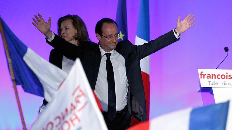 """Hollande: """"Los franceses han elegido el cambio"""""""