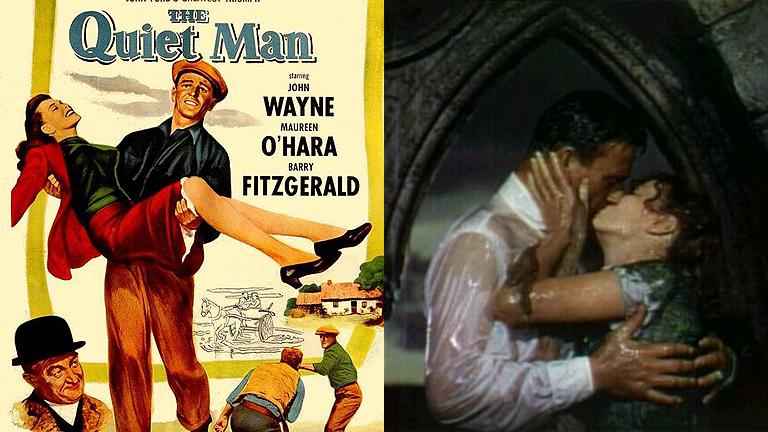 'El hombre tranquilo' una de las mejores películas de John Ford y John Wayne en Clásicos de la 1