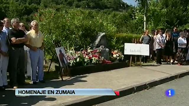 El presidente de la patronal guipuzcoana asesinado por ETA hace 12 años, homenajeado en Zumaia