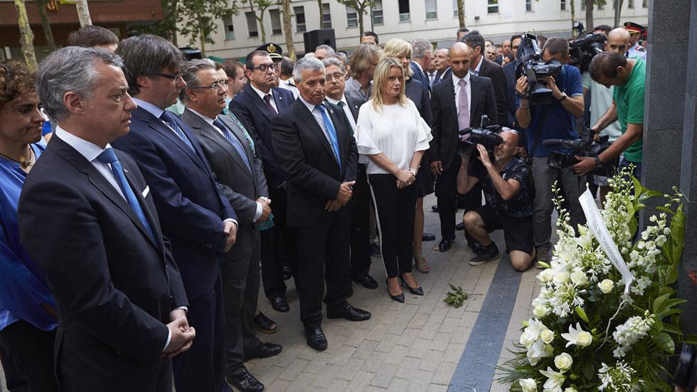 Homenaje a las víctimas del atentado de ETA en el Hipercor de Barcelona en el 30 aniversario