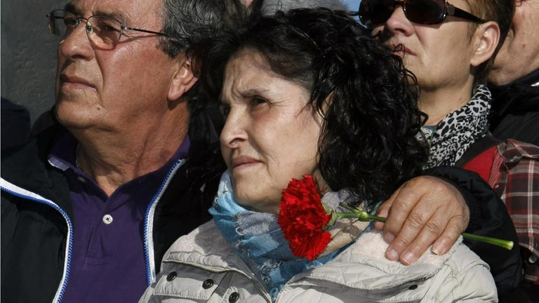 Las víctimas del 11M celebran por separado los actos de homenaje