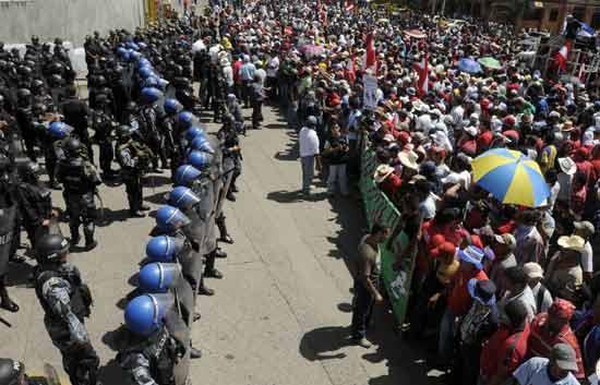 Informe semanal - Honduras, partida en dos