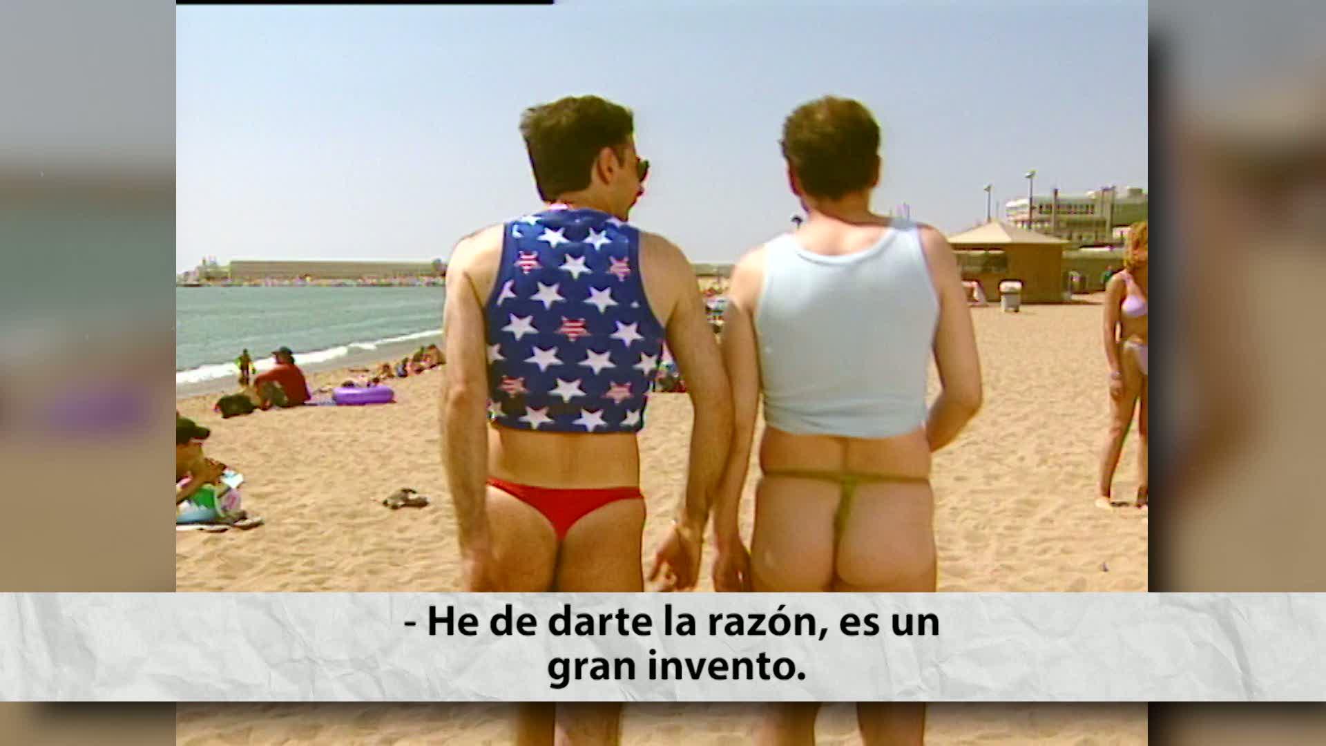 Hora Punta - Nos encanta el papel de Jordi Sánchez en la serie Plats Bruts . ¡Menudo baile en tanga se marcó!