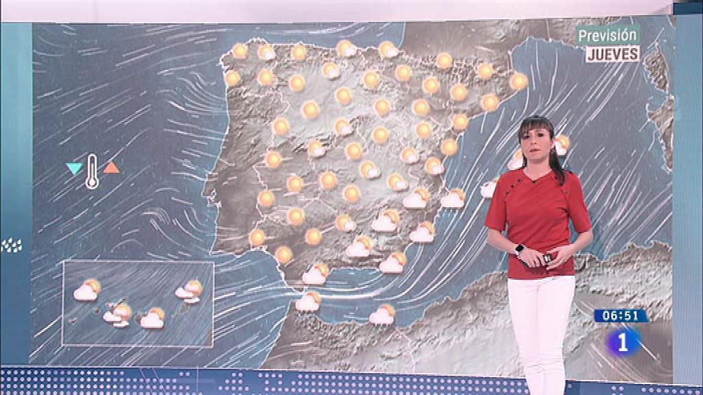 Hoy, ascenso de temperaturas diurnas en la Península y Baleares