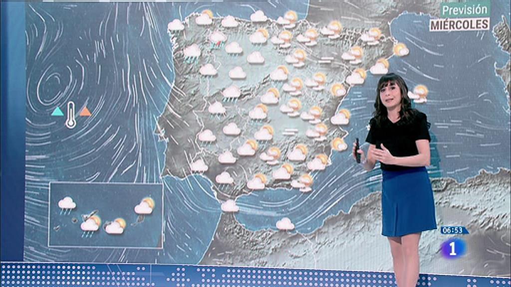 Hoy, temperaturas en descenso en el tercio occidental y área mediterránea