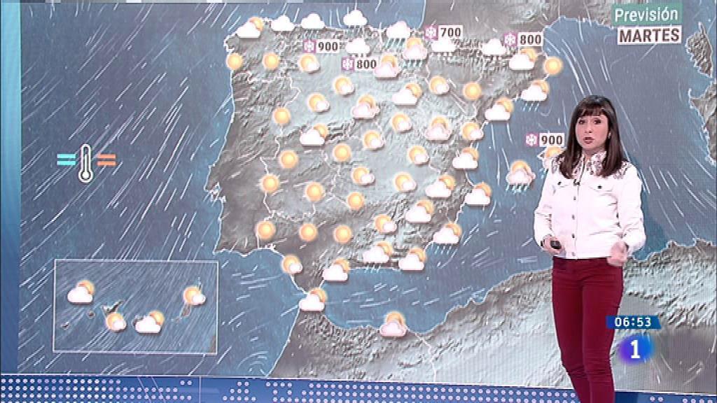 Hoy,temperaturas en descenso en el cuadrante sudeste peninsular y Baleares