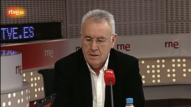 """Cayo Lara: """"Rajoy es el primer presidente que convoca una huelga general"""""""