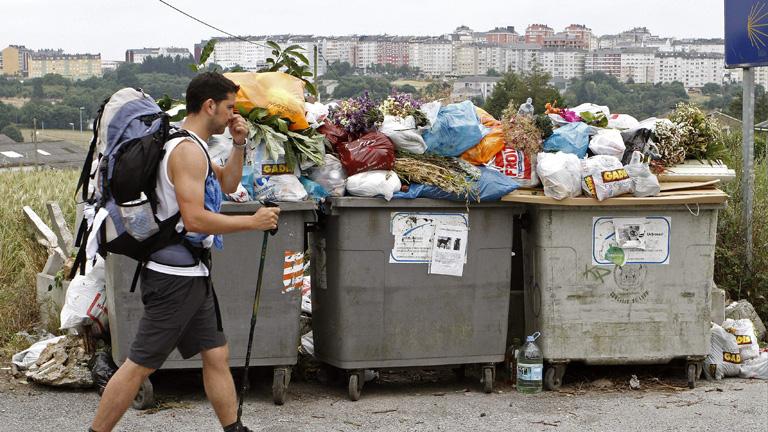 La huelga de recogida de basuras en Lugo cumple nueve semanas