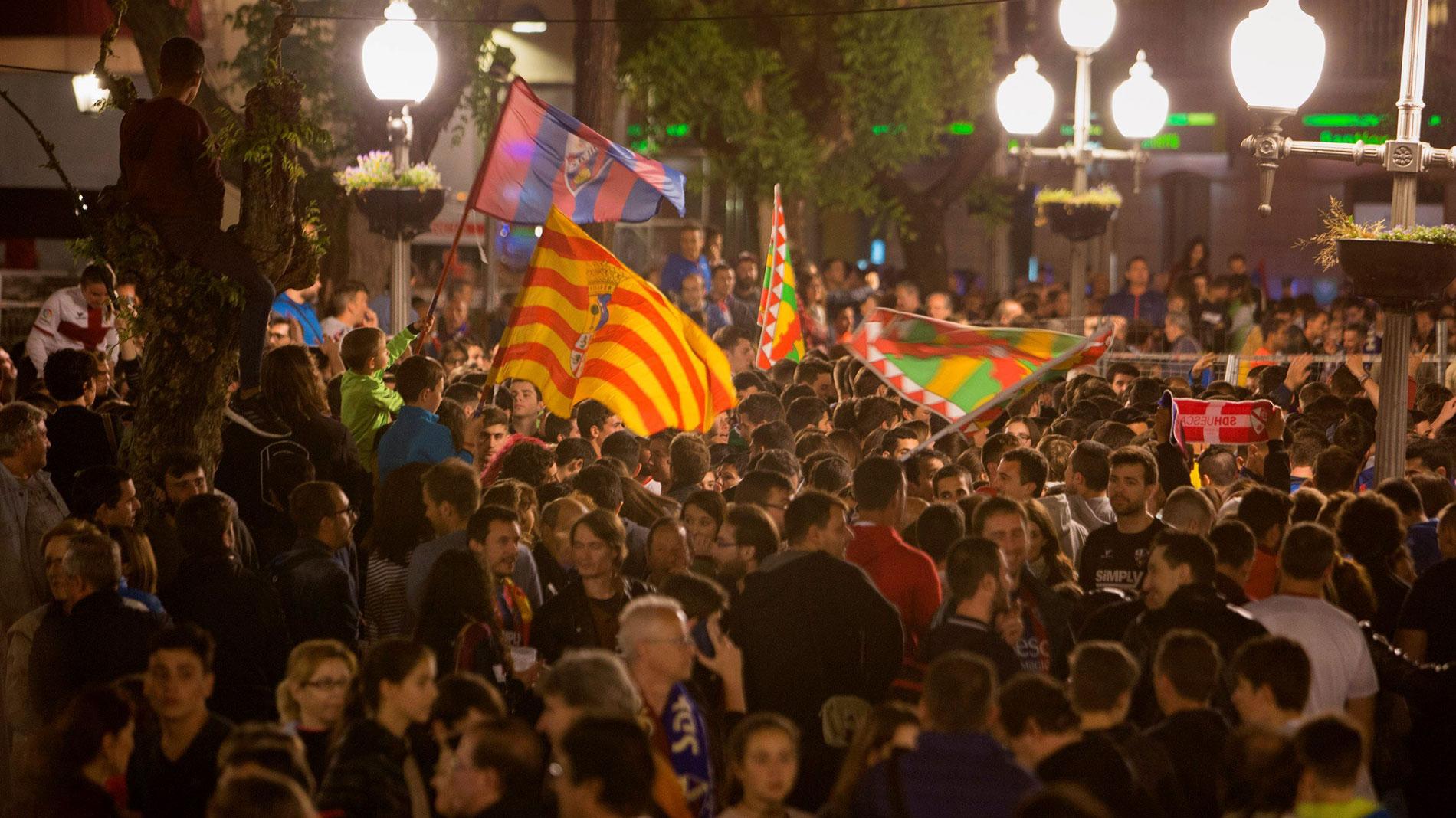 El Huesca logra un ascenso histórico a Primera