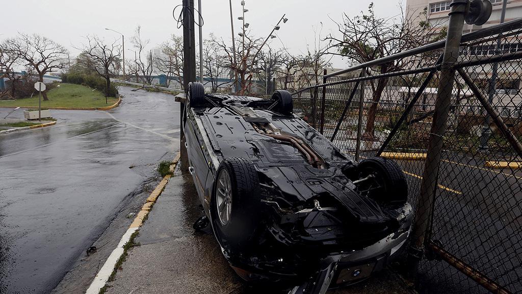 Hurac n mar a puerto rico pide a trump declarar la isla - Puerto rico huracan maria ...