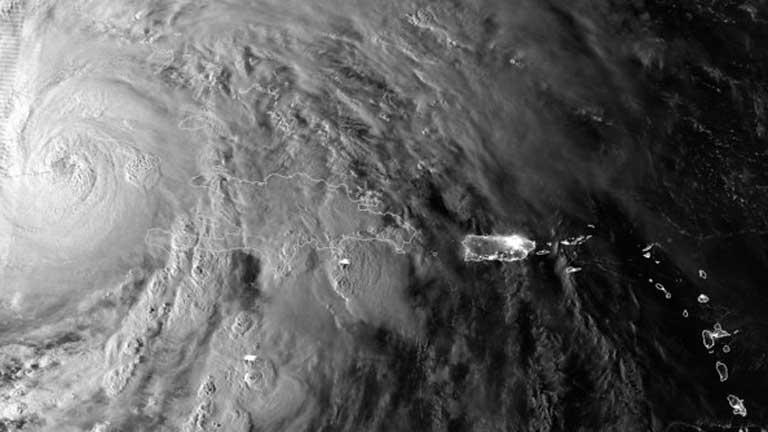 El huracán Sandy se dirige a Las Bahamas y Florida