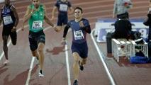 Husillos, campeón y récord de España de 400 m en pista cubierta