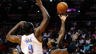 Ibaka, líder de tapones de la NBA