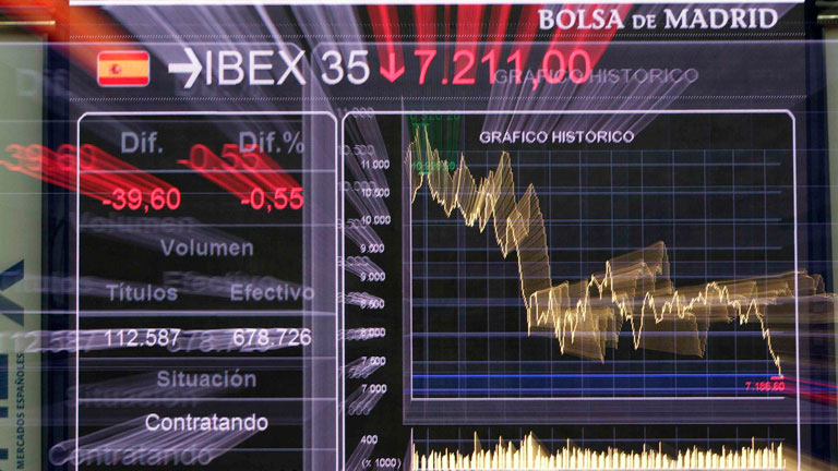 El Ibex-35 pierde un 3,99%, la mayor caída del año