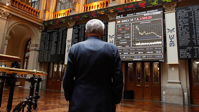 El Ibex-35 ha cerrado con una subida del 1,22%, mientras la prima y el bono tocan máximos históricos
