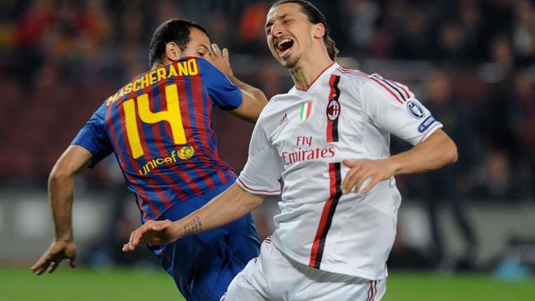 'Ibra' protestó los penaltis del Barça y Guardiola le respondió en sala de prensa