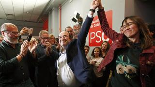 Iceta se impone con un 54% de los votos sobre Nuria Parlon
