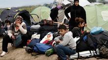 """Idomeni, el campo """"trampa"""" para miles de refugiados"""