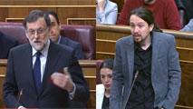 """Ir al VideoIglesias acusa a Rajoy de abusar de los vetos porque """"se la bufa"""" el informe de los letrados y Rajoy pide respeto"""