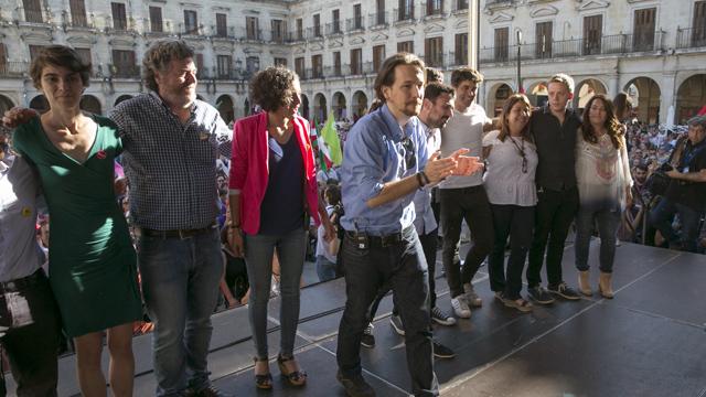 """Iglesias ha vuelto a insistir en el """"derecho a decidir"""" en España"""